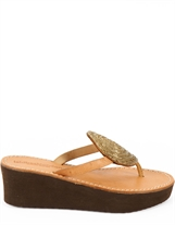 Laidback London Jayda Wedge Gold